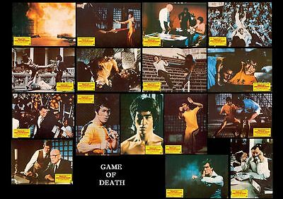 "17 Photos Cinéma Spain ""Game of Death / Le Jeu de la Mort) Bruce Lee"