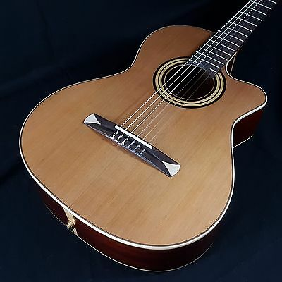 Alhambra CR-1 SR S E2 Crossover Acoustic Electric Classical Guitar/Hard Case