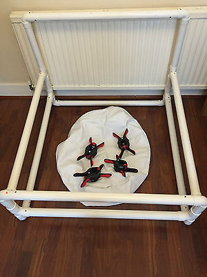 UK Newborn Photography Background Frame Stand with beanbag and clamps