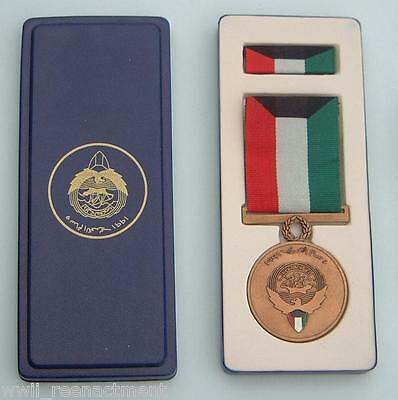 Full Size ORIGINAL Medal for LIBERATION OF KUWAIT - Kuwait issue 5th class,boxed