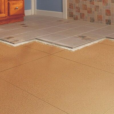 Natural Cork Underlayment Roll Repels Insects Tile Ceramic Stone Floors 1/4 in.