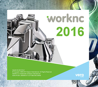 WorkNC 2016 Industrial CAD & CAM software For CNC Machines Professional Software