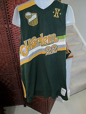 Harlem Globetrotters Fred CURLY Neal # 22 Basketball Jersey XXXL Green