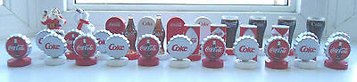 Coca-Cola Christmas Edition Chess Pieces (32 Total)