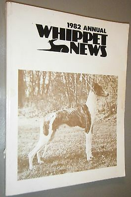 1982 Annual Whippet News Great Vintage Articles Ads & Breed Champion Photos