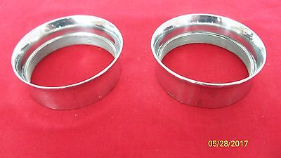 Triumph Bsa Norton Amal Polished Alloy Velocity Stacks For 928 930 932 Carbs