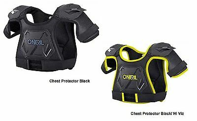 New tags oneal pee wee kids chest protector armour motorbike bmx 4-9yrs