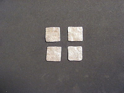 RARE Lot (4) silver Durham Islamic/Spain. Al-Andalus mint XII - XIII cent. A.D.