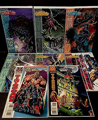 SHADOWMAN 30, 32-34, 36-39 Valiant Comics Lot Of 8 Bob Hall 1994 FN