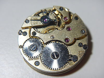SS & Co Watch Movement Vintage 1920 Dial And Hand