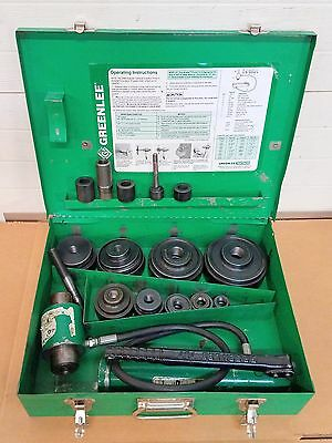 """Greenlee 7310 Electrician Hydraulic Metal Hole Knockout Punch Punches 1/2"""" - 4"""""""