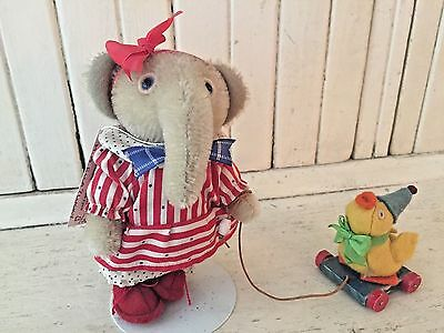 Jody Batagglia/ Miss Ella Elephant And Lucky The  Duck Collectible