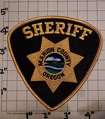Marion County (Salem,OR) Sheriff's Office Patch          ***NEW***