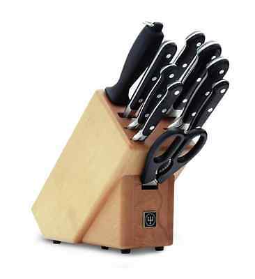 NEW Wusthof Classic 10 Piece Knife Block Set. Great Value!