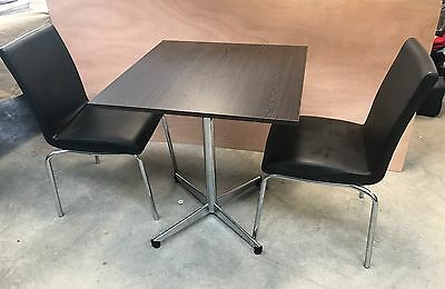 Cafe Furniture - Combination Table and Chairs