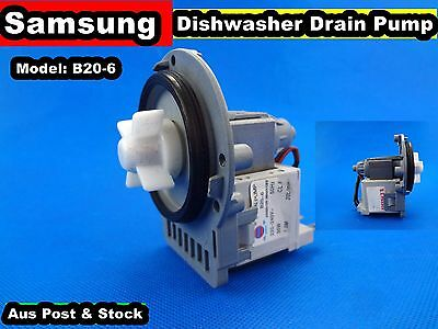 Samsung/Whirlpool Dishwasher Spare Parts Drain Pump (D161) Used