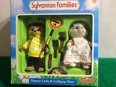 Sylvanian Families DINNER LADY & LOLLIPOP MAN SET!
