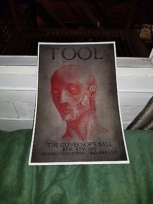 Tool poster Governor's Ball poster puscifer a perfect circle helmet incubus