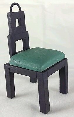 SALE Take A Seat FORM & FUNCTION Miniature Dollhouse Chair Raine BILTMORE  c1999