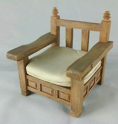 SALE! Take A Seat PATIO Miniature Dollhouse Chair Raine BILTMORE  c.1990 NIB