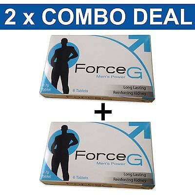 Force G Premature Ejaculation Delay Pills Prolong Sex And Pleasure 12PK