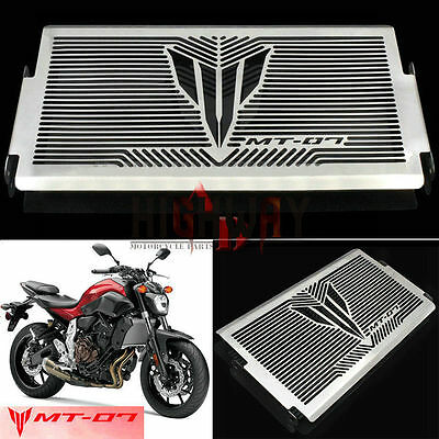 Radiator Grille Grill Cover Protect Guard For YAMAHA MT-07 MT07 2013 2014 2015