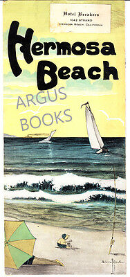 ORIGINAL 1920's HERMOSA BEACH CALIFORNIA LOS ANGELES COUNTY PROMOTIONAL PAMPHLET