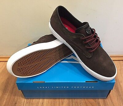 Lakai Riley Hawk Mens Shoe Chocolate