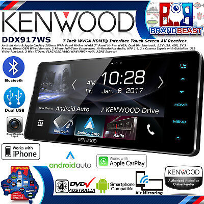 """Kenwood Ddx917ws 200"""" Toyota Fit Apple Carplay Android Auto Top Of The Line Unit"""