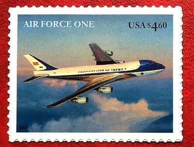 US stamps #4144 $4.60 Air Force One Priority Mail MNH