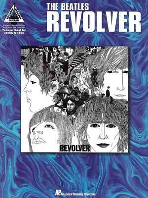 THE BEATLES - Revolver Guitar TAB Book *NEW* Music Songs