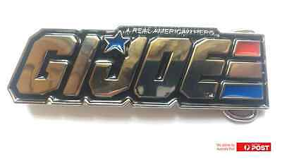 GI Joe Metal Belt Buckle