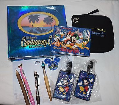 Disney Cruise Gear: Castaway Cay Photo Album; Autograph Book; Pens & More NEW