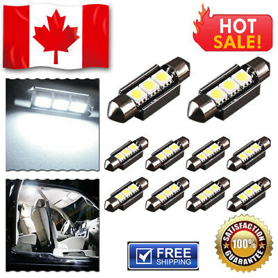 2 x 7000K Cool White H8 H11 High 80W LED Bulbs Car Fog DRL Driving Light 1920LM