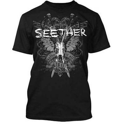 New Fashion Womens/Mens SEETHER - Suffer Funny 3D Print Casual T-Shirt