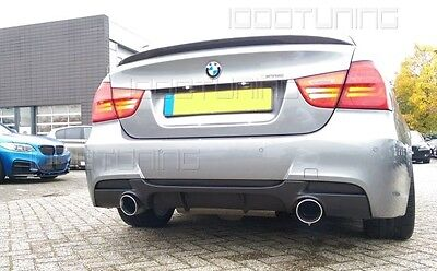 BMW 3 Series E90 E91 Rear Bumper Diffuser Performance 335d/335i M-Package -GB-