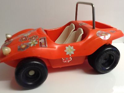Vintage Dolls Toy Beach Buggy For Barbie Or Sindy Doll Collectable Or Playable