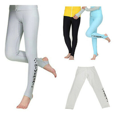 Women Ultrathin Wetsuit Diving Pants Surfing Leggings Swimming Tights Trousers