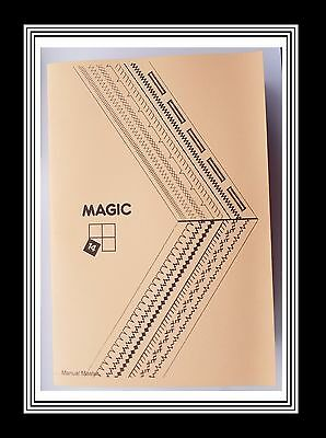 Comprehensive Singer Magic 14 Sewing Machine Illustrated Instructions Manual