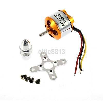 A2212 1000Kv Brushless Outrunner Motor For Fixed Wing Quadcopter Plane AU^