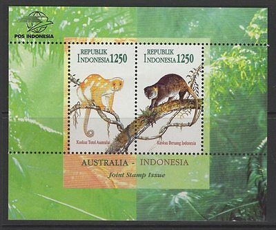 Indonesia Sgms2232 1996 Australia-Indonesia Joint Issue Mnh