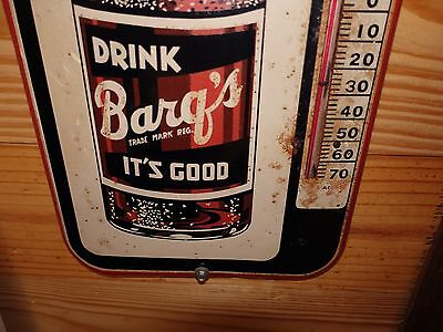 1950's BARQ'S ROOT BEER THERMOMETER