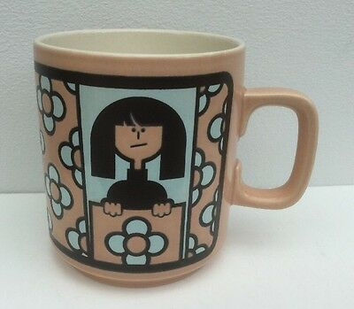 Hornsea Pottery John Clappison Worlds Best Wallpaperer Mug