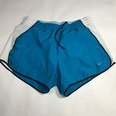 Nike Dri-Fit  Running Lined Shorts Men's Small S blue white