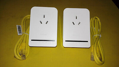 D-LINK DHP-P308AV 500Mbps PowerLine Adapter 95% New 1pcs