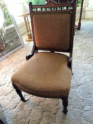 Lovely condition Victorian bedroom chair