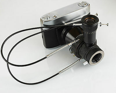 LEITZ 35mm microscope camera back with MIKAS
