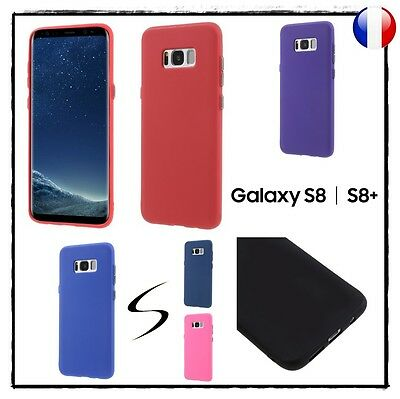 Etui housse coque souple silicone TPU Gel Case Cover Samsung Galaxy S8 / S8 +