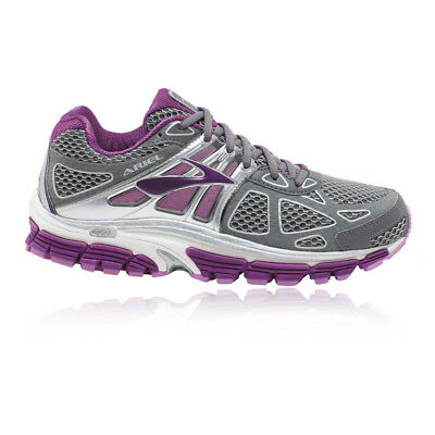 Brooks Ariel 14 Womens Grey Purple Support Running Shoes Trainers D Width