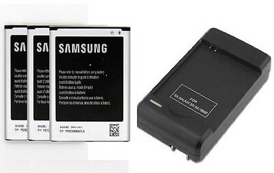 New 2600mAh Battery + Wall Charger For Samsung Galaxy S4 i9500 i9505 i337 M919